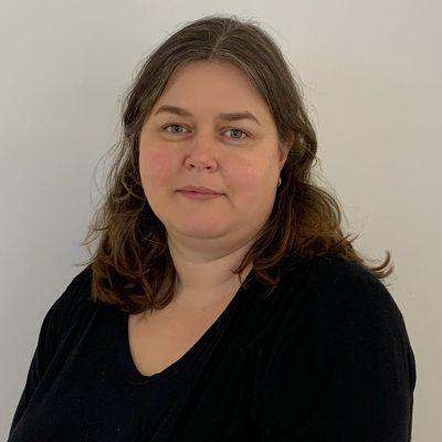 Annika Eriksson som arbetar som fastighetsutvecklare.